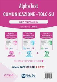 Alpha Test. Comunicazione. TOLC-SU. Kit di preparazione