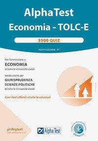 Alpha test. Economia. Tolc-E. 3.500 quiz