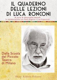 Il quaderno delle lezioni di Luca Ronconi