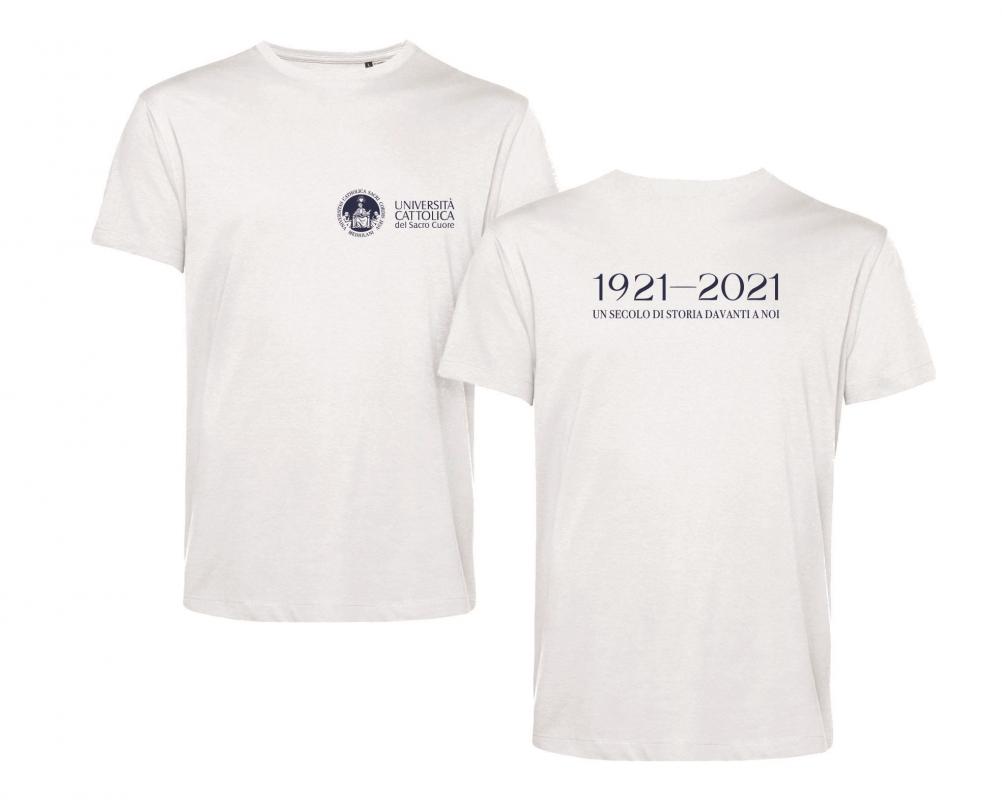 T-shirt E150 Organic Bianco Centenario S