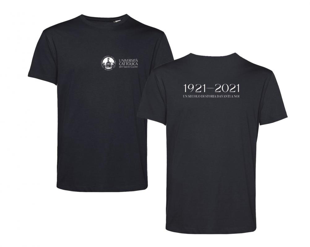 T-shirt E150 Organic Blu Centenario XS