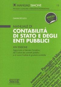 Manuale di contabilità di Stato e degli enti pubblici