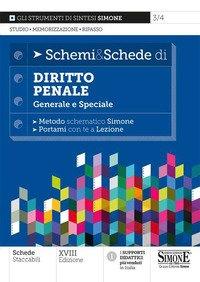 Schemi & schede di diritto penale. Generale e speciale