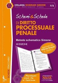 Schemi & schede di diritto processuale penale