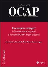 OCAP. Osservatorio sul cambiamento delle amministrazioni pubbliche