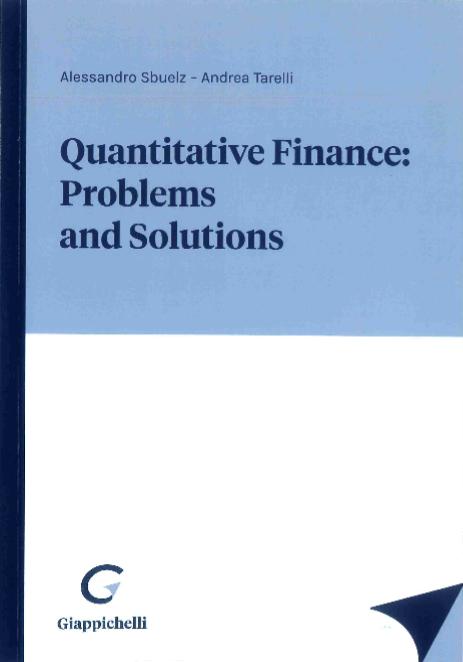 Quantitative finance: problems and solutions