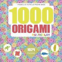 1000 origami multicolor