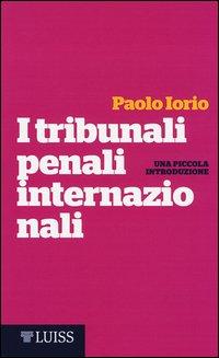 I tribunali penali internazionali. Una piccola introduzione