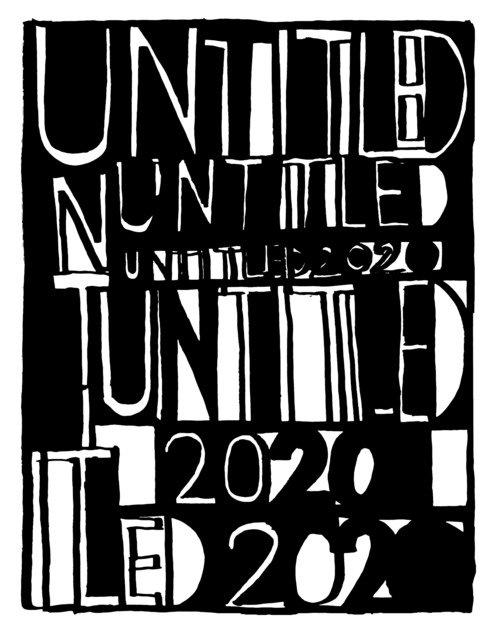 Untitled 2020. Ediz. italiana, inglese e francese