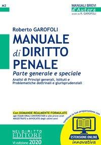 Manuale di diritto penale. Parte generale e speciale