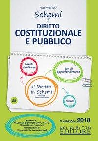 Schemi di diritto costituzionale e pubblico