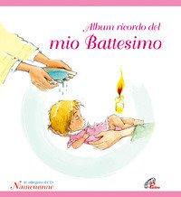 Album ricordo del mio battesimo. Rosa