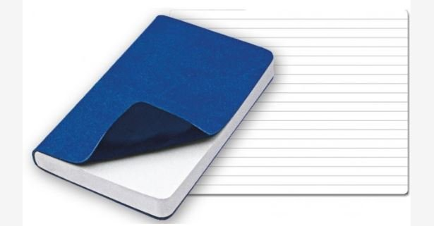 REFLEXA POCKET NOTEBOOK L BLUE/D BLUE