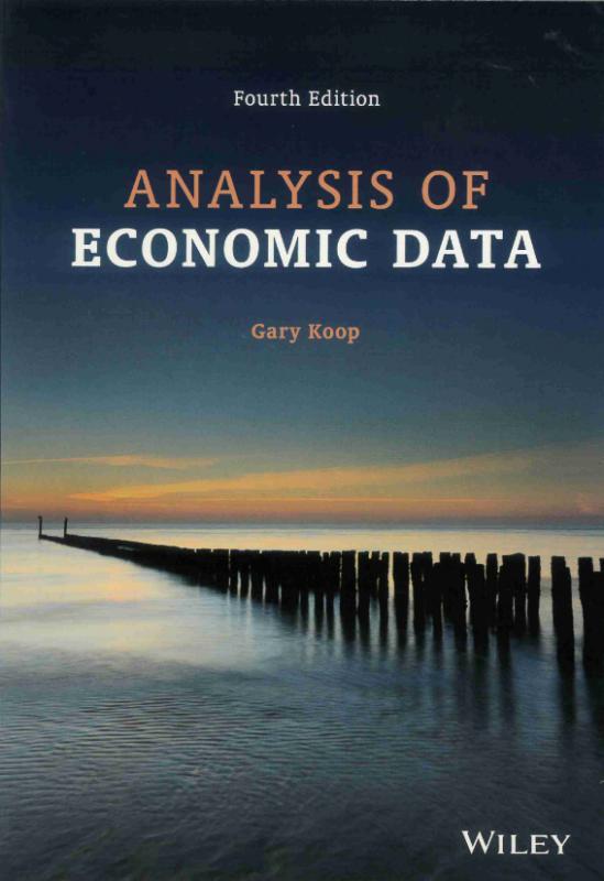 Analysis Of Economic Data 4th Ed.