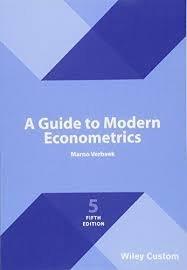 Guide To Modern Econometrics