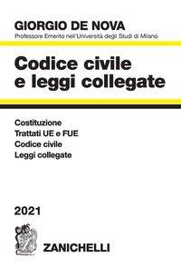 Codice civile e leggi collegate 2021