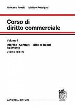 Corso Di Diritto Commerciale V.1