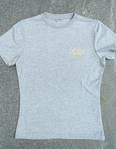 T-shirt College Style Grigio L