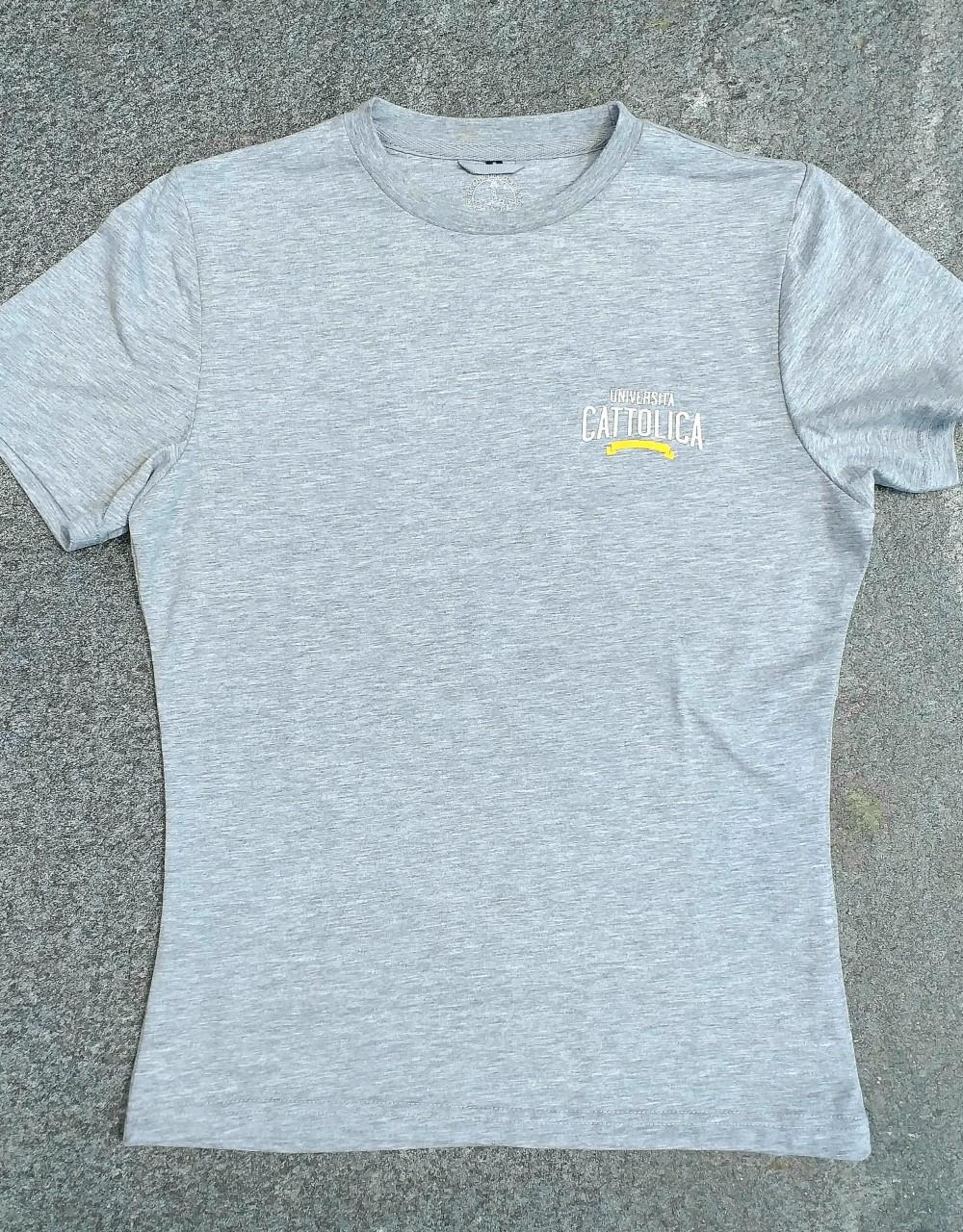 T-shirt College Style Grigio Xxl
