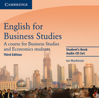 English For Business Studies. Audio Cd