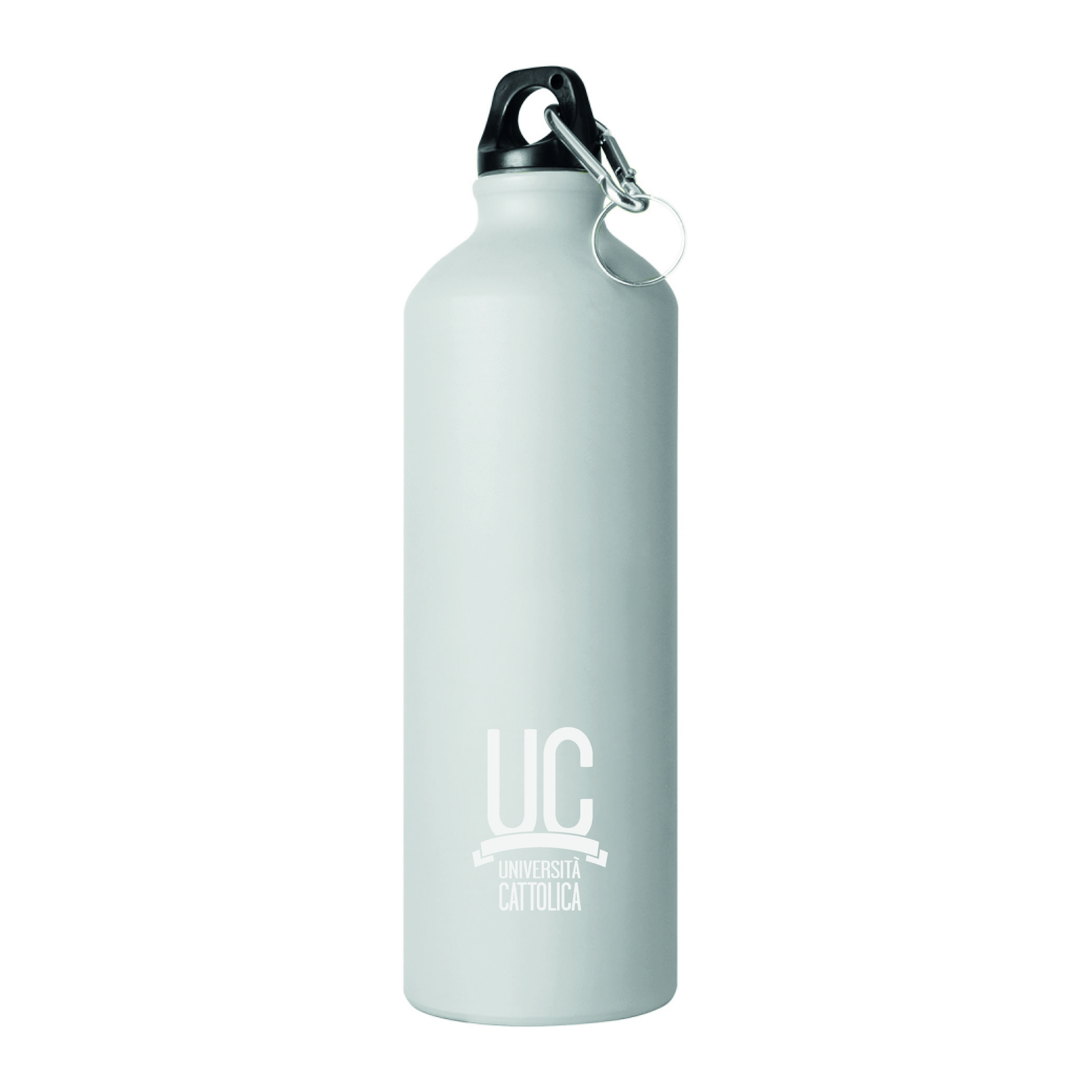 WATER BOTTLE 750 ML/25 OZ - WHITE