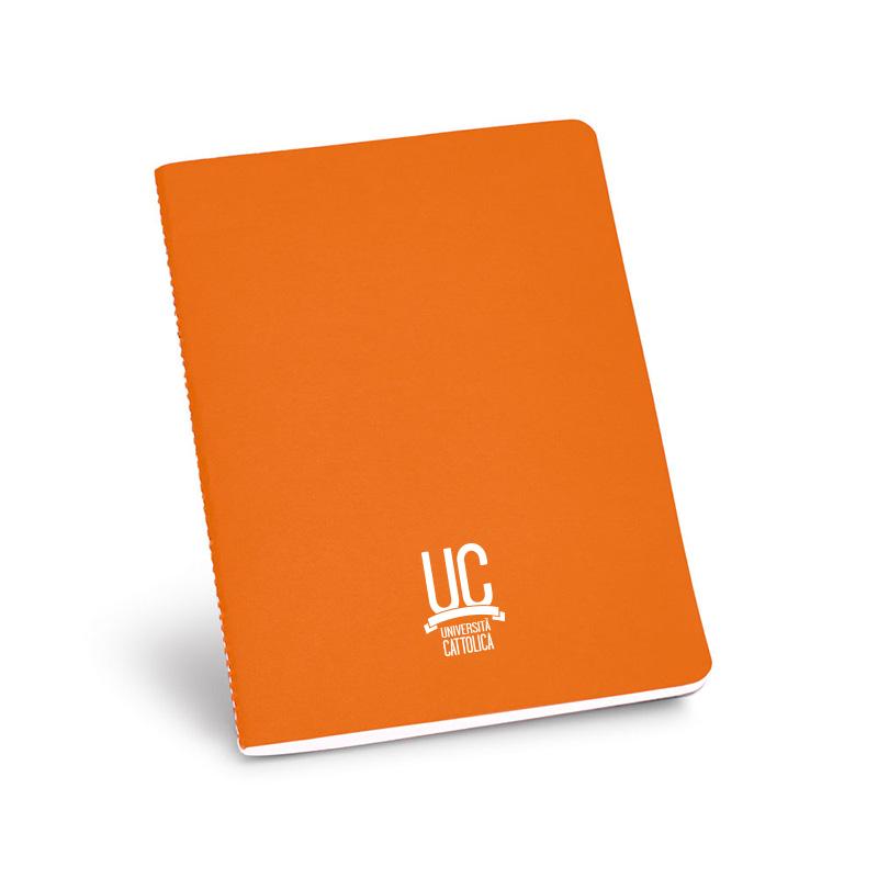 Notes In Carta Riciclata A Righe Arancio